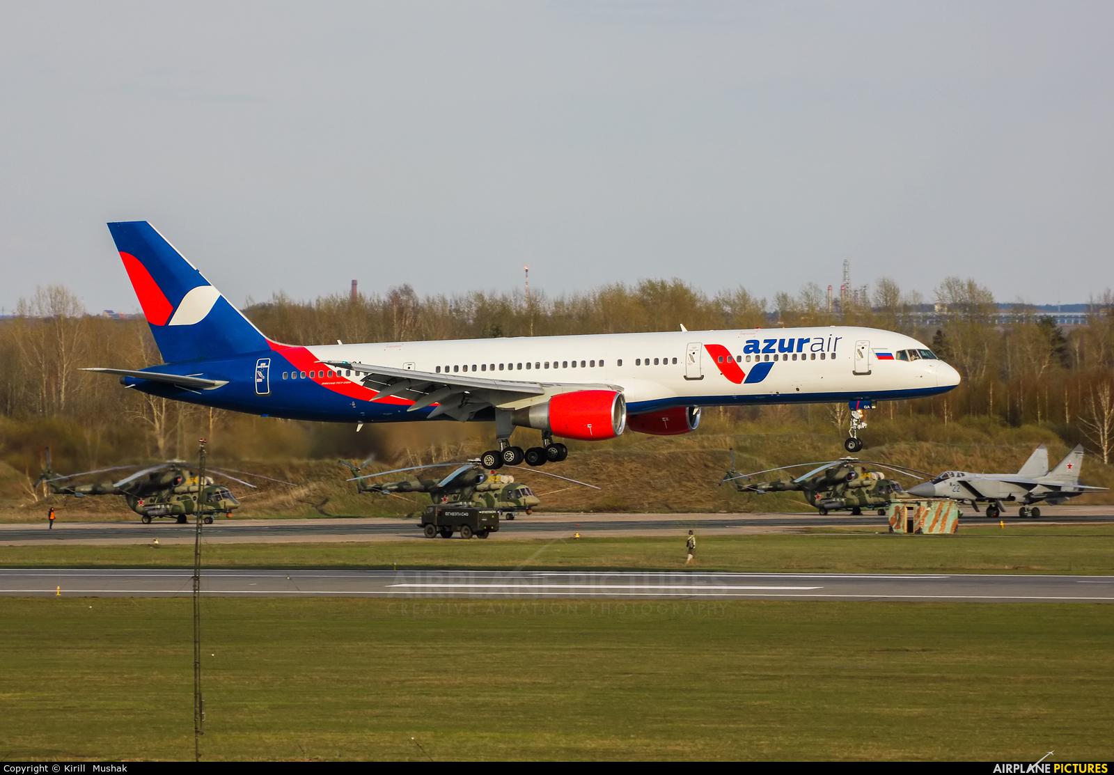 AzurAir VQ-BQA aircraft at Bolshoe Savino - Perm