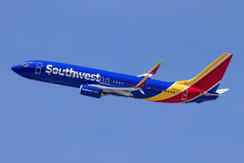 N8501V - Southwest Airlines Boeing 737-800