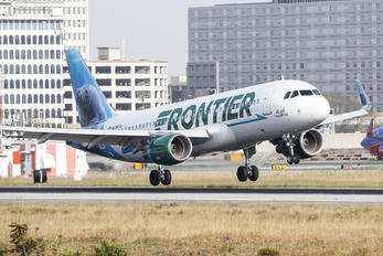 N238FR - Frontier Airlines Airbus A320