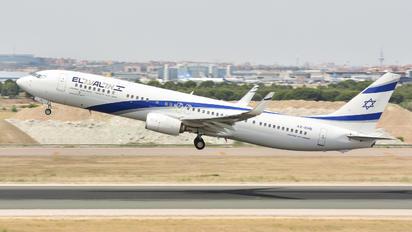 4X-EHB - El Al Israel Airlines Boeing 737-900ER