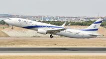 4X-EHB - El Al Israel Airlines Boeing 737-900ER aircraft