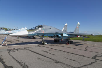 12 RED - Russia - Air Force Sukhoi Su-34
