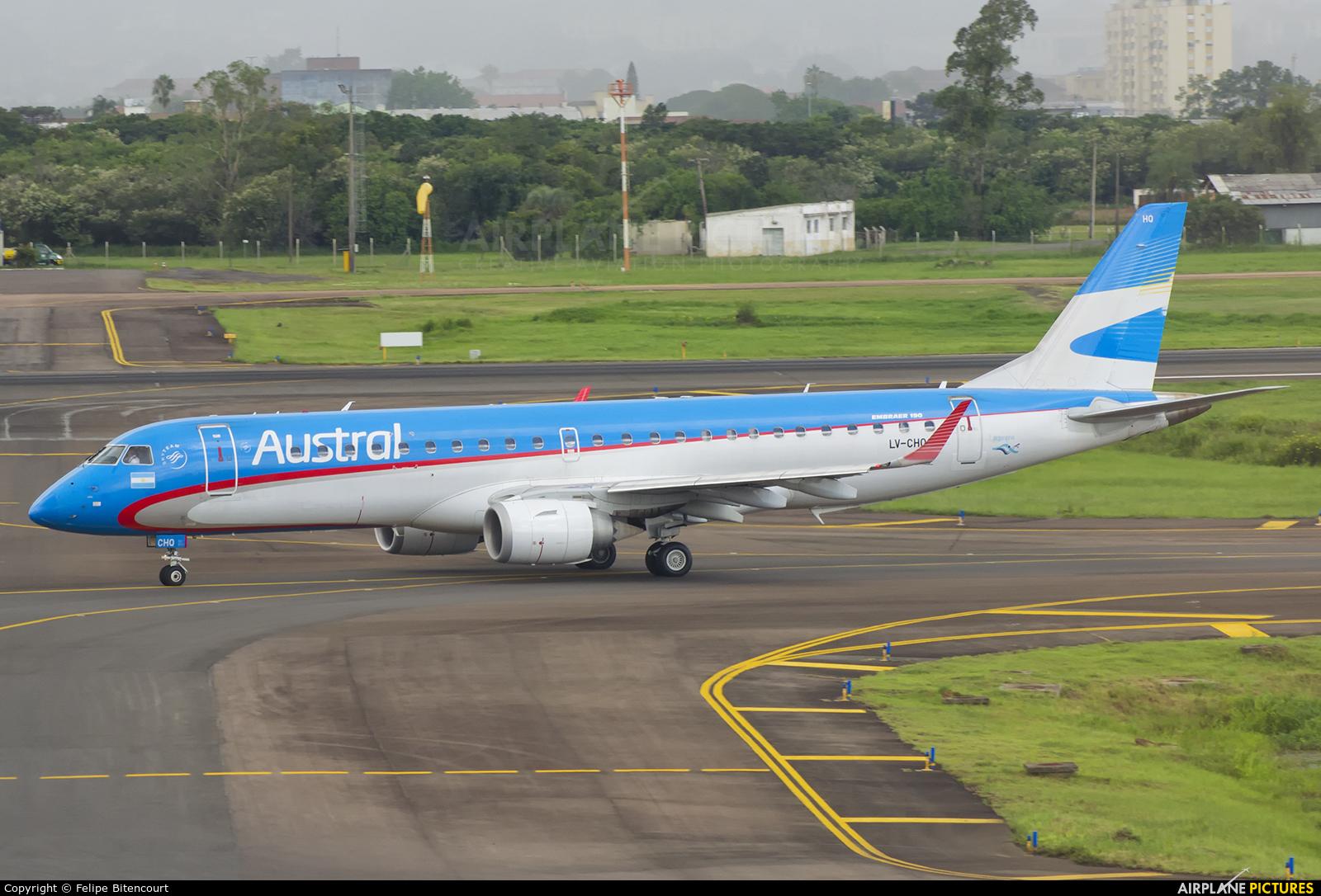 Austral Lineas Aereas LV-CHO aircraft at Porto Alegre - Salgado Filho