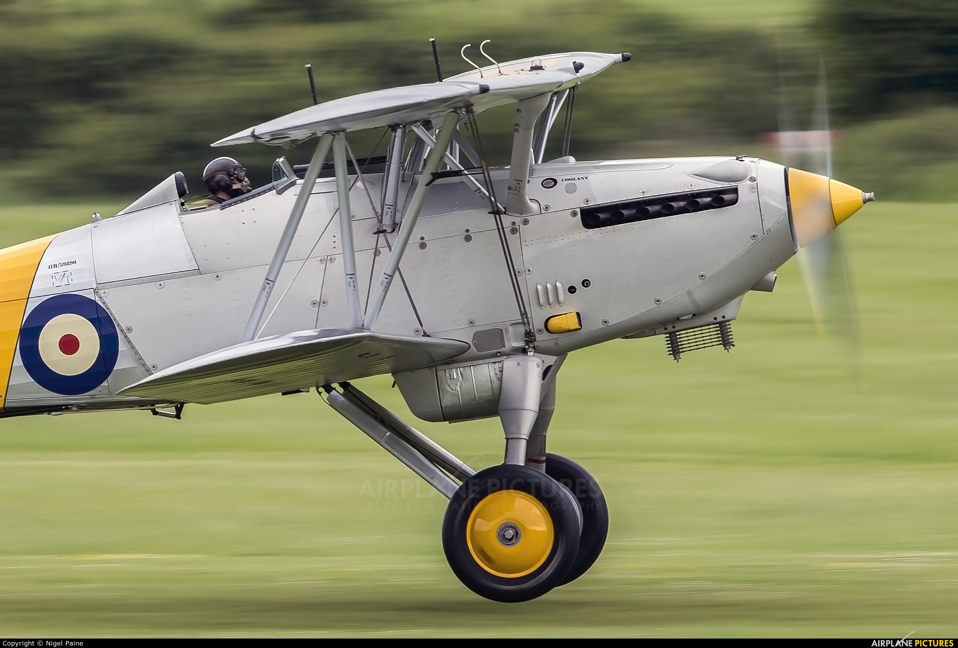 Historic Aircraft Collection G-BURZ aircraft at Old Warden