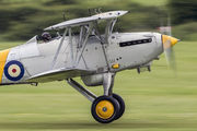 G-BURZ - Historic Aircraft Collection Hawker Nimrod II aircraft