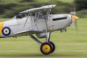 G-BURZ - Historic Aircraft Collection Hawker Nimrod II aircraft