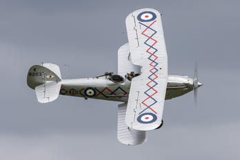 G-BTVE - Demon Displays Hawker Demon