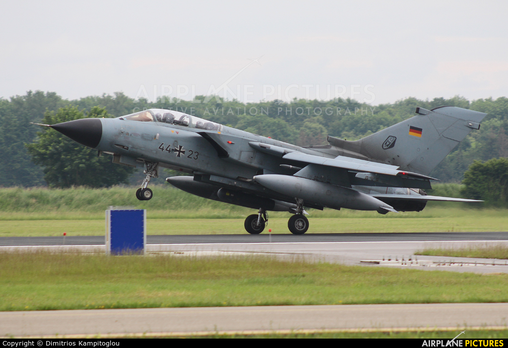 Germany - Air Force 44+23 aircraft at Neuburg - Zell