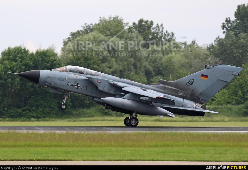 Germany - Air Force 44+23 aircraft at Neuburg - Zell