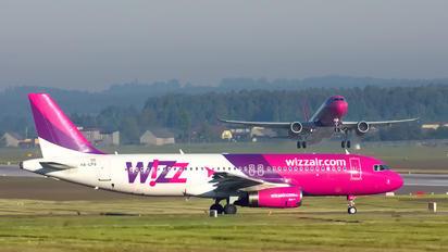 HA-LPQ - Wizz Air Airbus A320