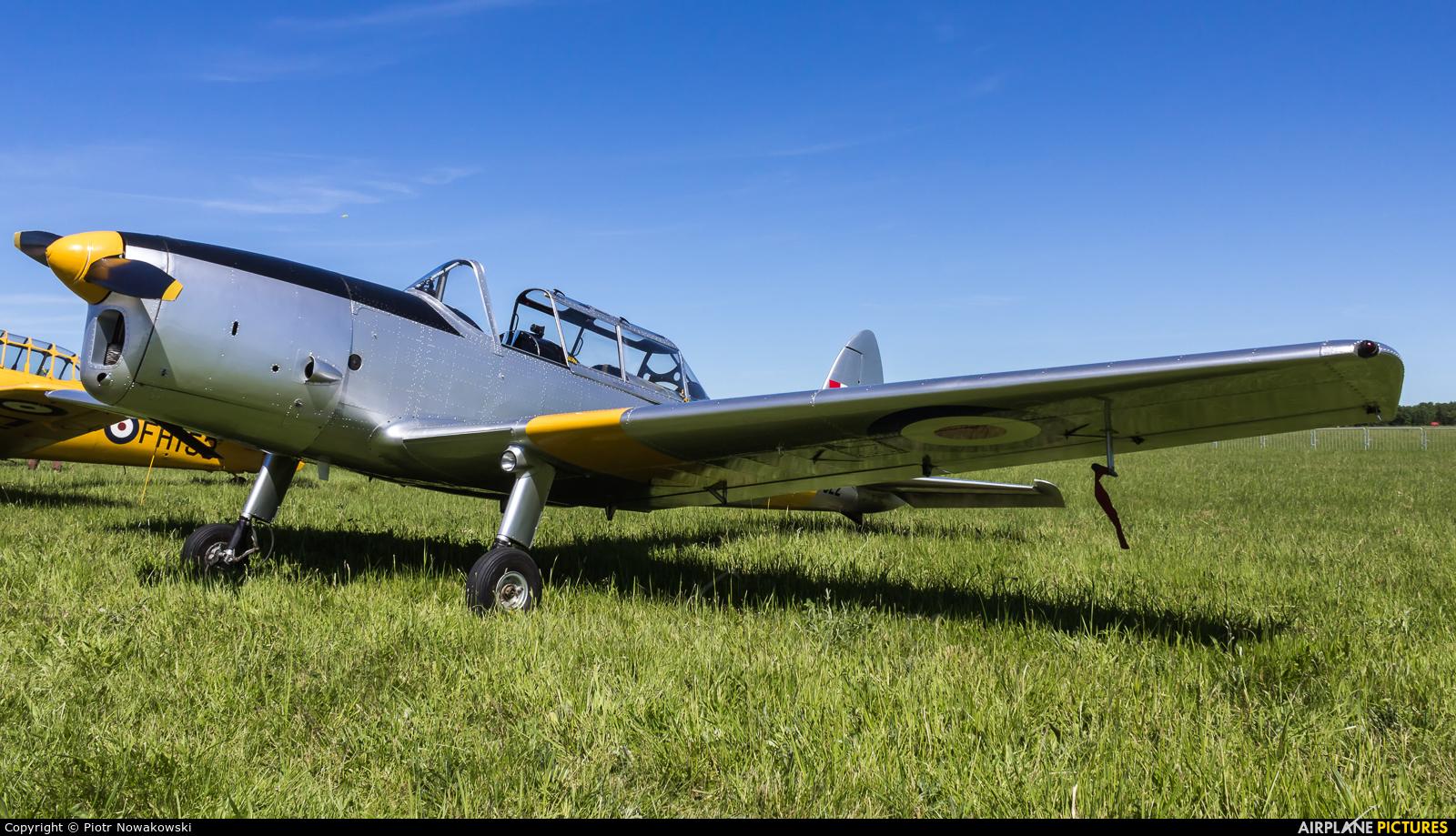 Private SP-YAC aircraft at Mińsk Mazowiecki