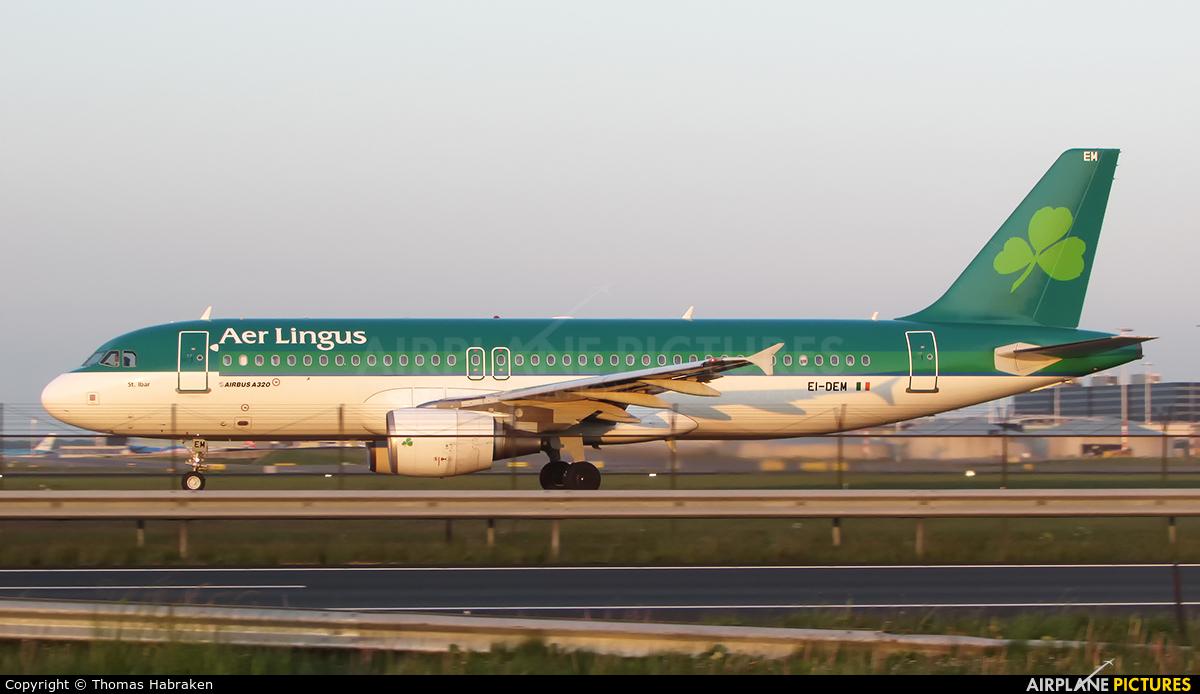 Aer Lingus EI-DEM aircraft at Amsterdam - Schiphol