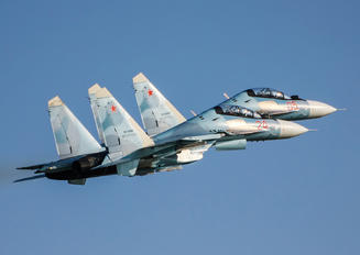 "RF-95840 - Russia - Air Force ""Falcons of Russia"" Sukhoi Su-30SM"
