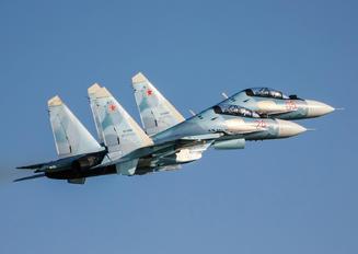 "RF-95840 - Russia - Air Force ""Falcons of Russia"" Sukhoi Su-30SM"