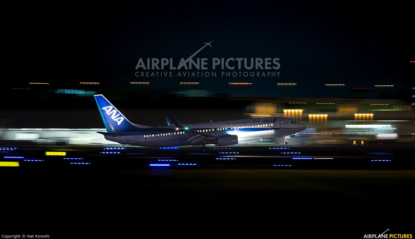 ANA - All Nippon Airways JA83AN aircraft at Tokyo - Haneda Intl