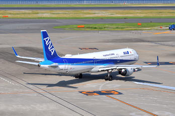 JA114A - ANA - All Nippon Airways Airbus A321