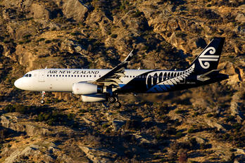 ZK-OXL - Air New Zealand Airbus A320