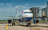 G-MIDT - British Airways Airbus A320 aircraft