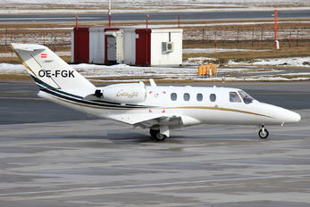 OE-FGK - Private Cessna 525 CitationJet