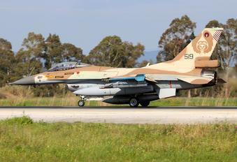519 - Israel - Defence Force General Dynamics F-16C Barak