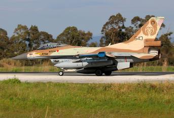 543 - Israel - Defence Force General Dynamics F-16C Barak