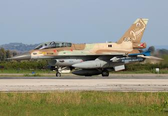 664 - Israel - Defence Force General Dynamics F-16D Barak