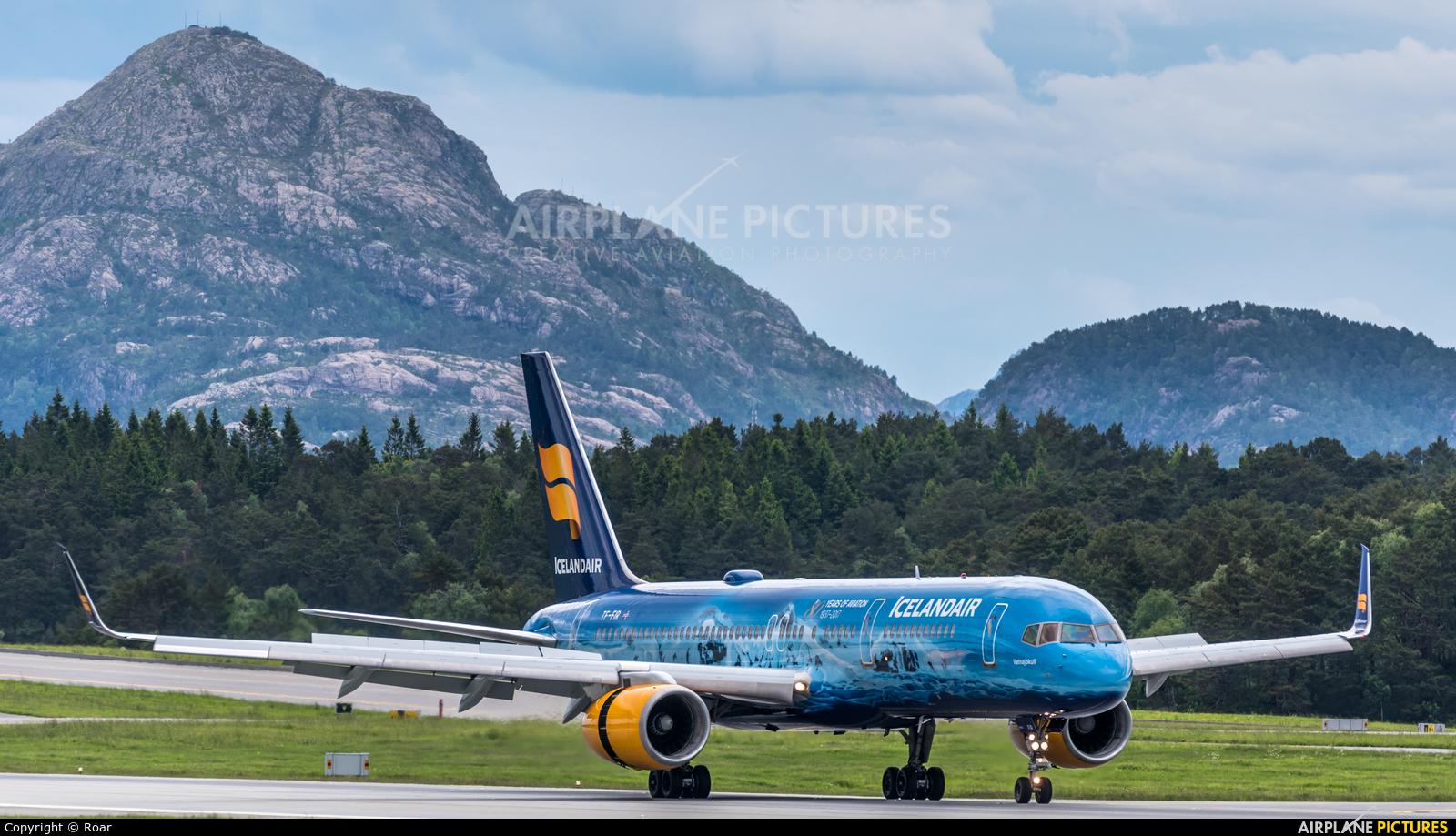 Icelandair TF-FIR aircraft at Bergen - Flesland