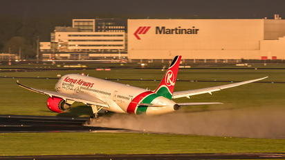 5Y-KZA - Kenya Airways Boeing 787-8 Dreamliner