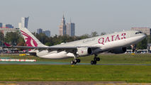 A7-ACE - Qatar Airways Airbus A330-200 aircraft