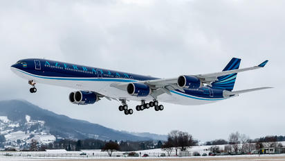 4K-AI08 - Azerbaijan - Government Airbus A340-600