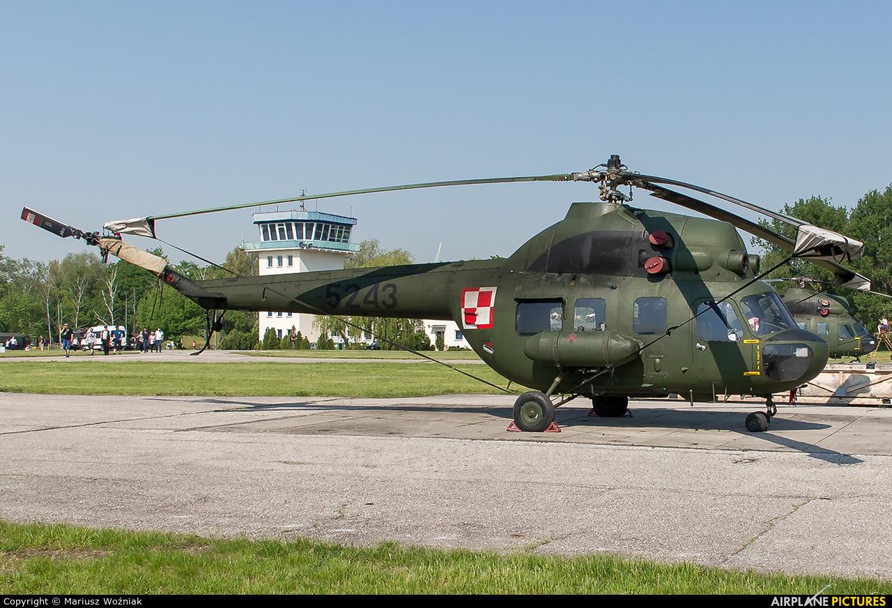 Poland - Army 5243 aircraft at Inowrocław - Latkowo