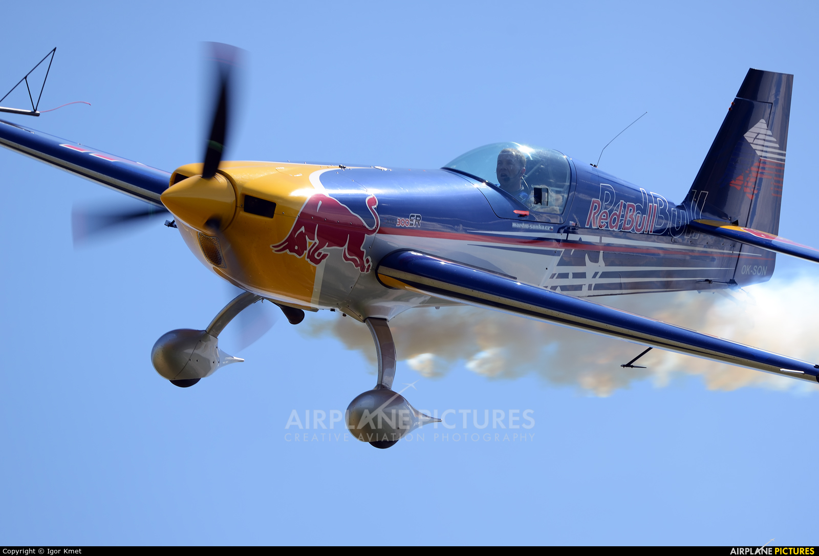 The Flying Bulls OK-SON aircraft at Dubová