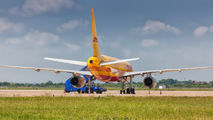 G-DHKE - DHL Cargo Boeing 757-200F aircraft