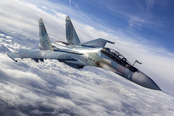 30 - Russia - Air Force Sukhoi Su-30SM