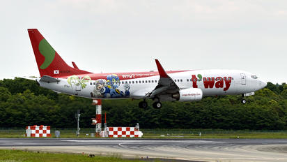 HL8024 - T'Way Air Boeing 737-800