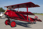 OK-UAA 90 - Private Fokker DR.1 Triplane (replica) aircraft