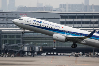 JA84AN - ANA - All Nippon Airways Boeing 737-800