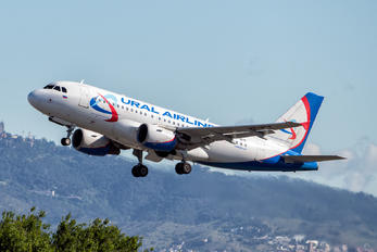 VP-BTF - Ural Airlines Airbus A319