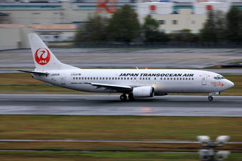 JA8938 - JAL - Japan Transocean Air Boeing 737-400