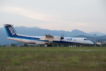 JA855A - ANA - All Nippon Airways de Havilland Canada DHC-8-400Q / Bombardier Q400