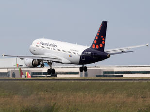 OO-SSW - Brussels Airlines Airbus A319