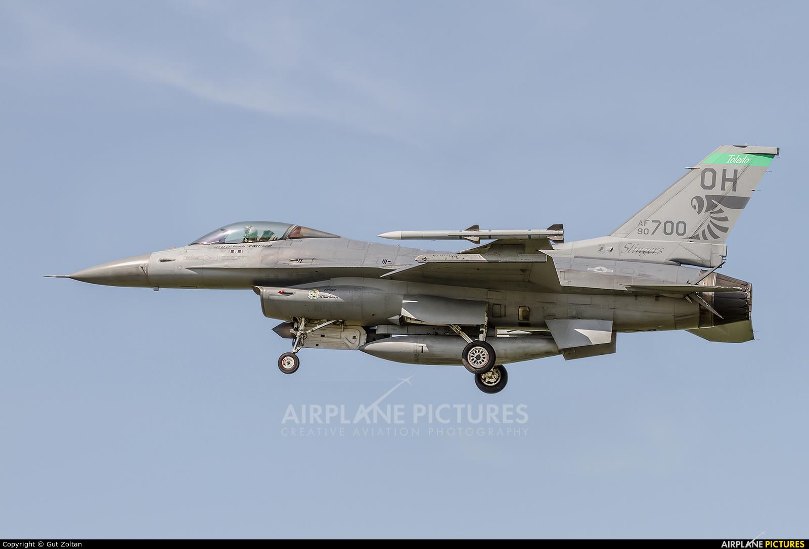 USA - Air Force 90-0700 aircraft at Kecskemét