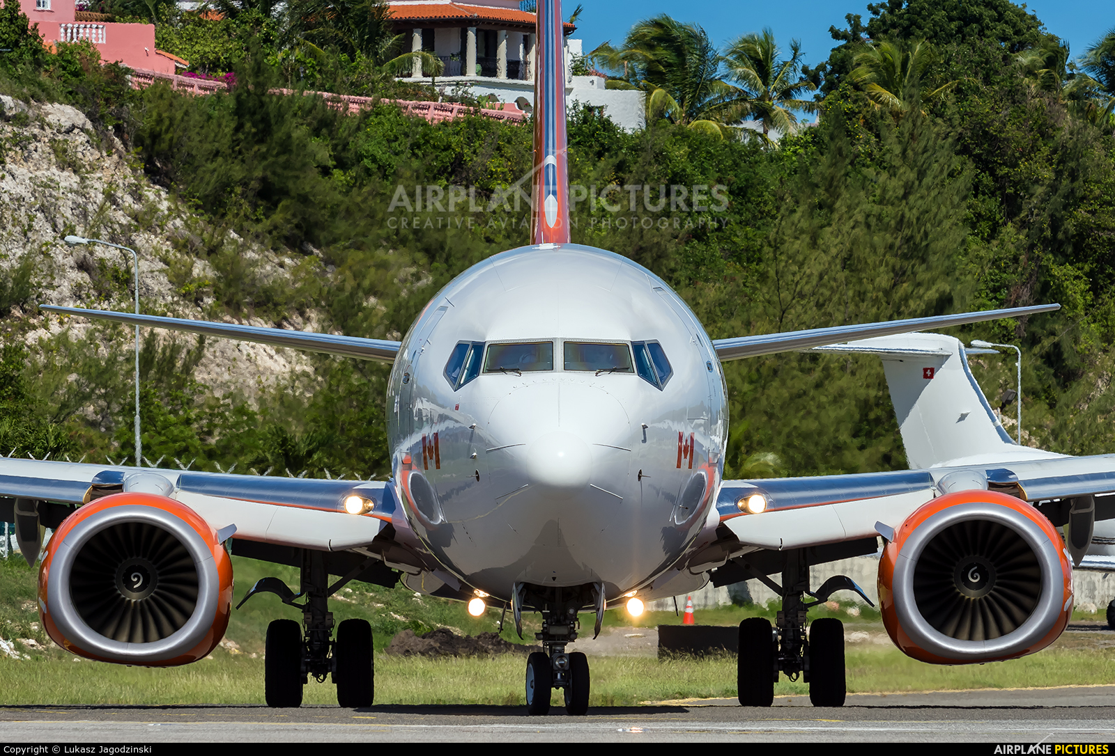 Sunwing Airlines C-FPRP aircraft at Sint Maarten - Princess Juliana Intl