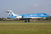 PH-KZU - KLM Cityhopper Fokker 70 aircraft