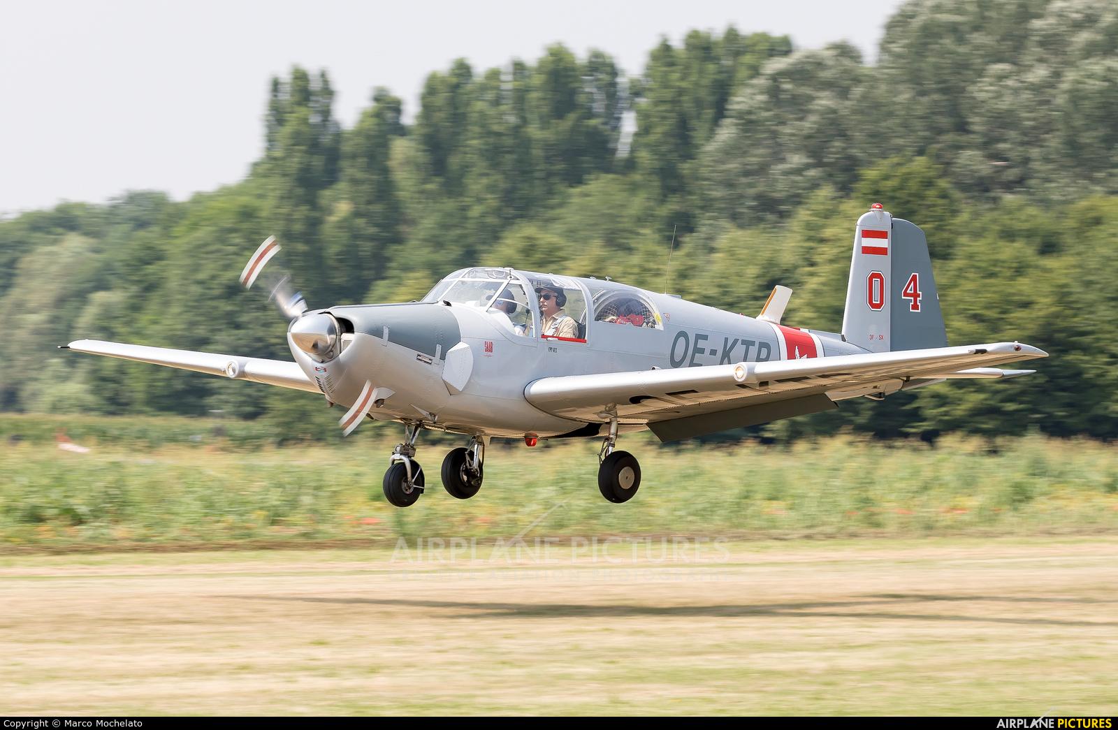 Private OE-KTP aircraft at Montagnana