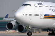 9V-SPF - Singapore Airlines Boeing 747-400 aircraft