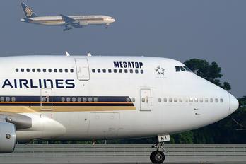 9V-SMA - Singapore Airlines Boeing 747-400