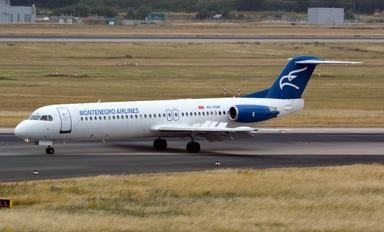 4O-AOM - Montenegro Airlines Fokker 100