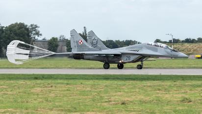 28 - Poland - Air Force Mikoyan-Gurevich MiG-29UB