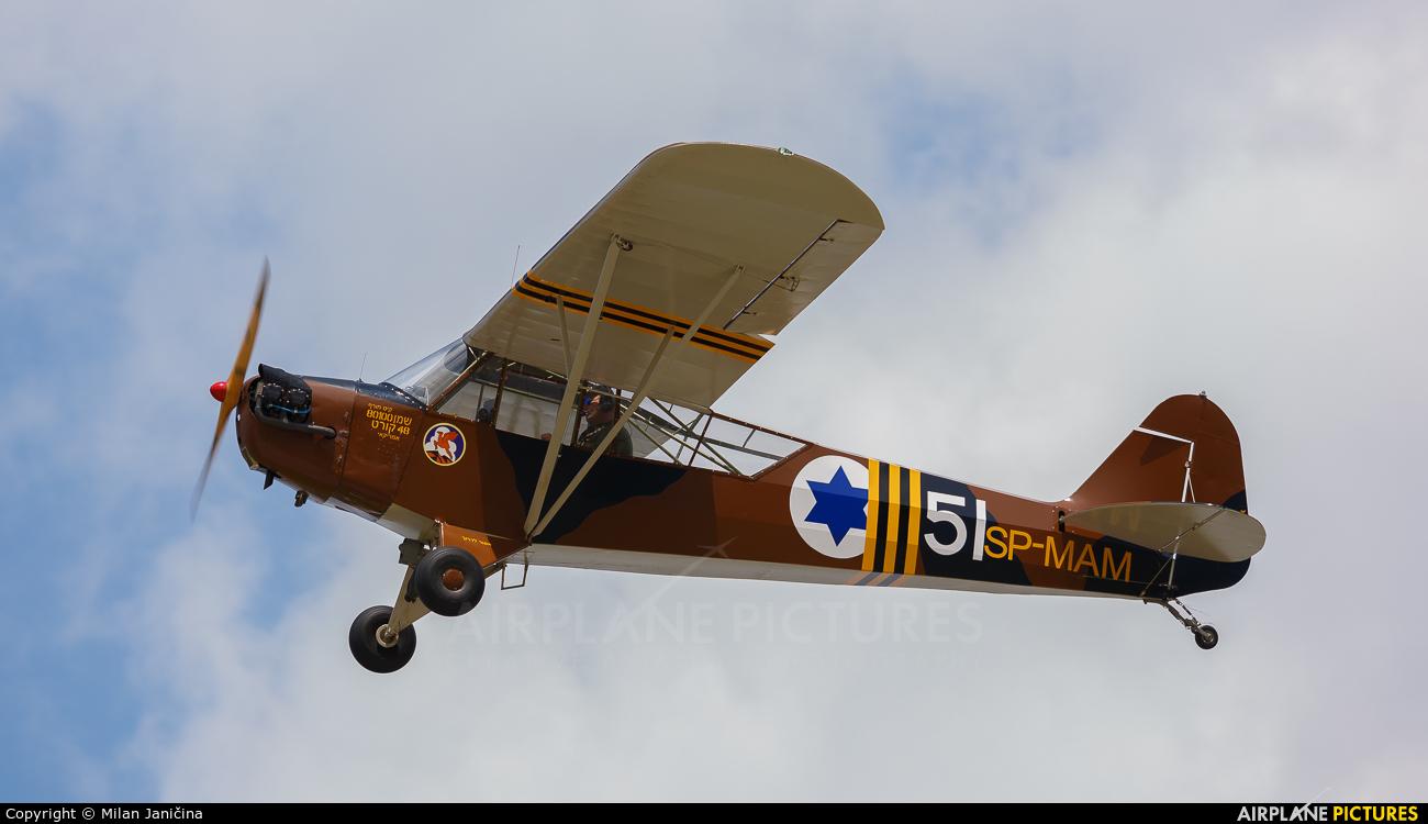 Private SP-MAM aircraft at Kraków, Rakowice Czyżyny - Museum of Polish Aviation